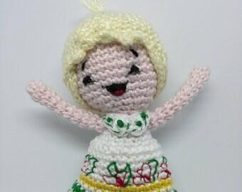 Susanna Tutta Panna Amigurumi crochet Doll