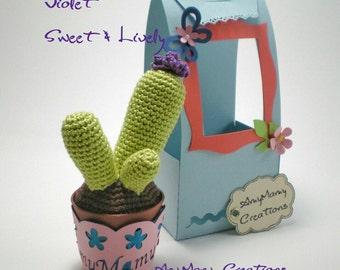 Crochet Cactus Amigurumi - Lei è Violet ..
