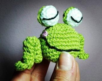 Baby Frog - Ranocchia Amigurumi Portachiavi