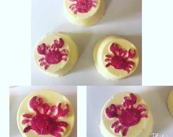 Dont be crabby citrus essential oils mood and energy boosting shower steamers... essential oil shower steamer