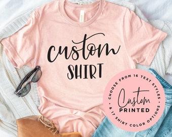 Custom Shirt, Personalized Shirt, Custom T-shirt, Custom T-Shirt Printing, Personalized T-shirt, Tee, T-shirt, Custom T-Shirt, Custom