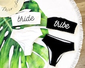 Bride Babes, Swimsuit, Bachelorette Party Swimsuits, Bridal Party Shirts, Bathing Suits, Bride to be, Custom Swimsuits, Custom Bathing Suits