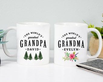Grandparents gift Grandma mug Grandpa mug Gift for grandma Gift for grandpa Worlds greatest grandpa Worlds greatest grandma Coffee mug
