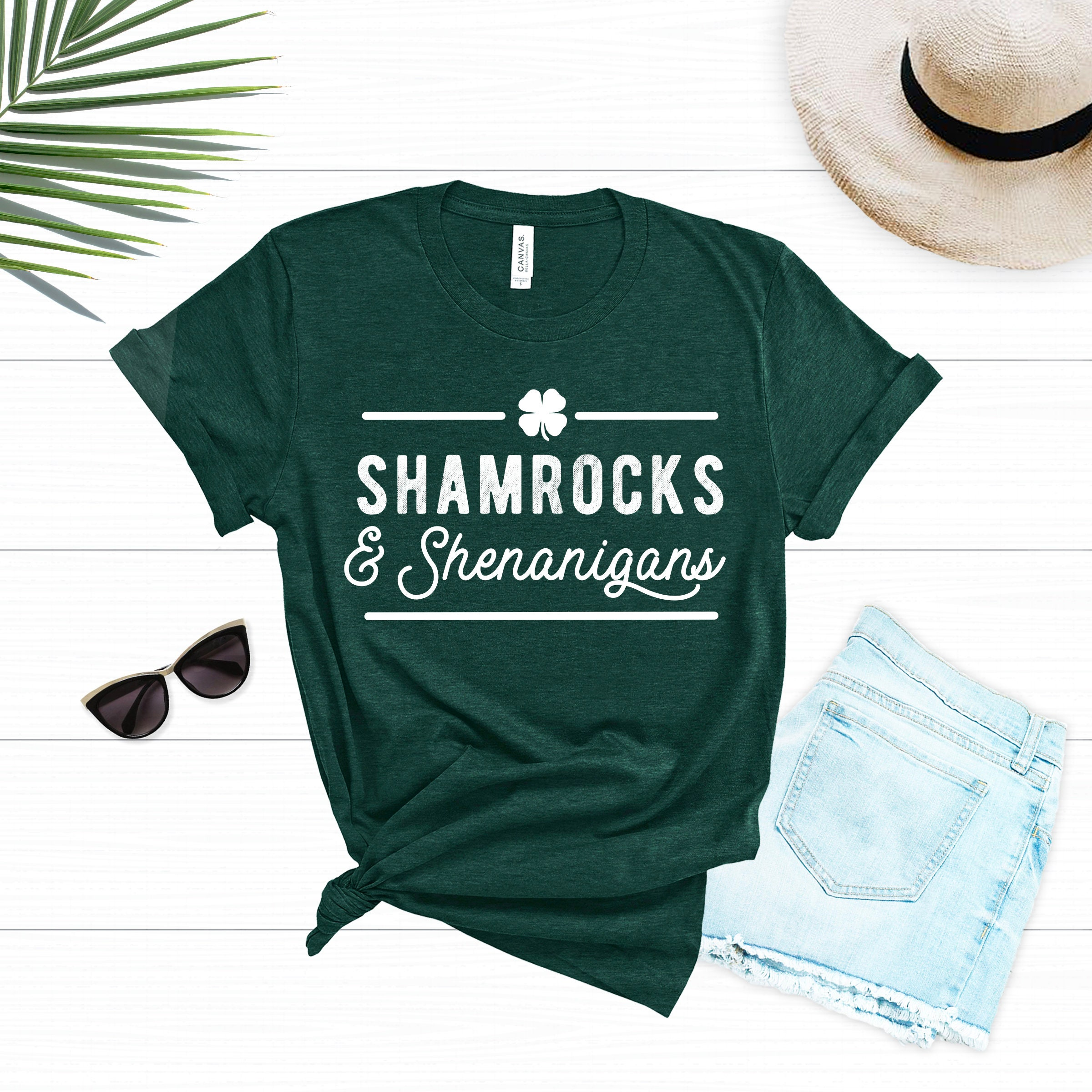 e14db87ce St Patricks Day Shirt Women St Patricks Day Shamrock Shirt | Etsy
