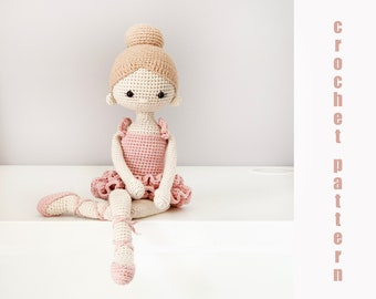 Crochet Amigurumi Hello Kitty Ballerina Free Pattern [Video ... | 270x340