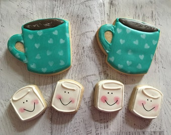 Hot Chocolate and Marshmallow Sugar Cookie Set