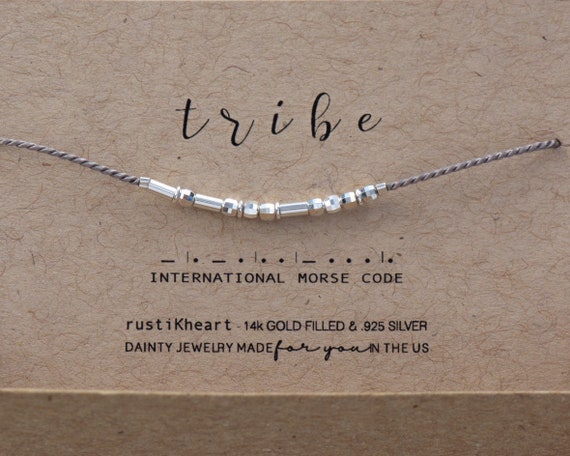 Shine Bright Morse Bracelet