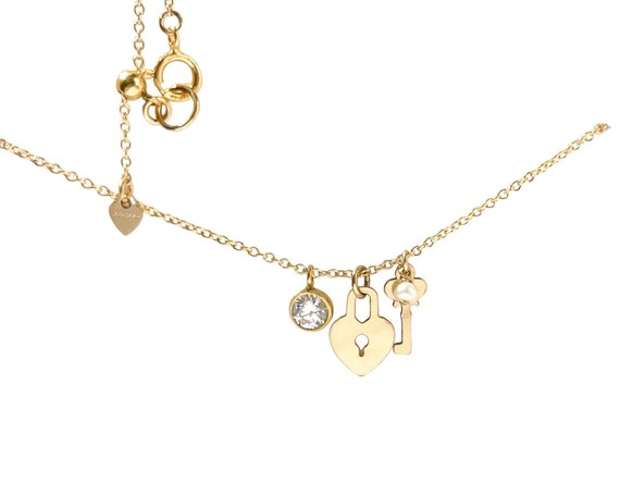 Sliding Charms Necklace - Add-On Initials