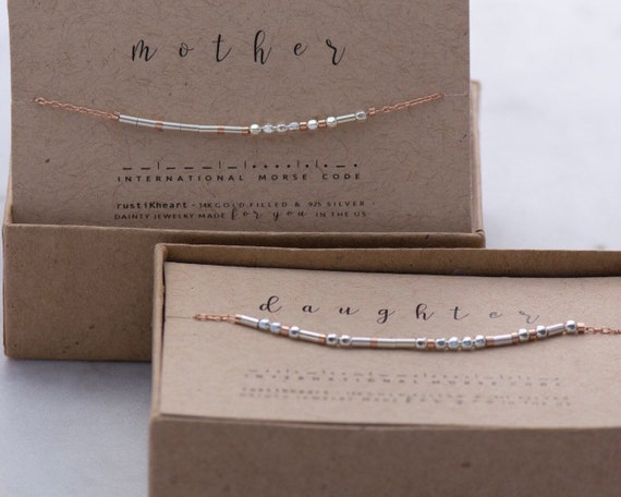 Mother / Daughter Chain Bracelet Set