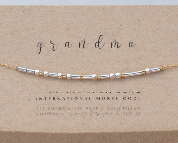 Grandma Silver on Gold Bracelet
