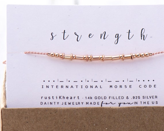 Rose Gold Hoops Morse on Silk