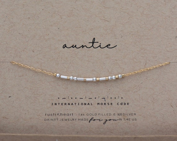 Bestie Silver on Rose Chain