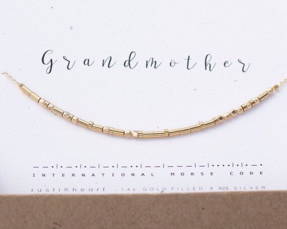 Gold Facet Grandma Necklace