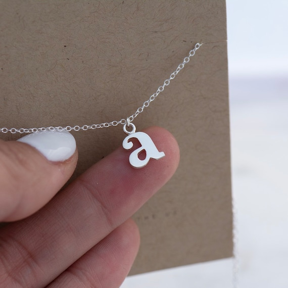 smallcap silver necklace