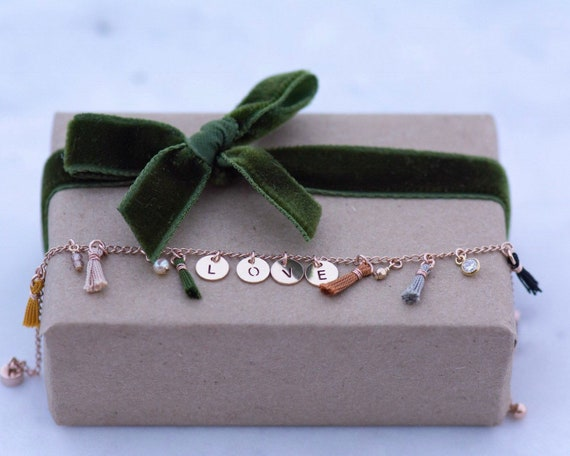 The Tiny Tassels Bracelet