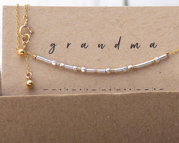 Grandma Silver on Gold Bracelet