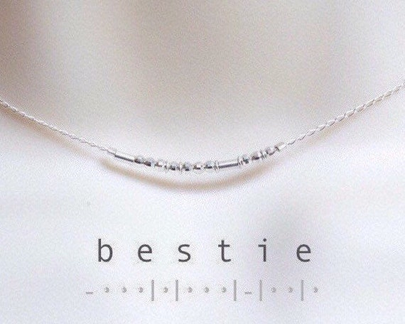 Bestie Sparkle Necklace