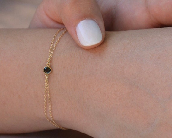 Be Bold Bracelet in gold & black