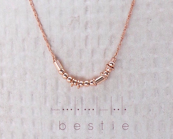 Rose Gold Bestie or Custom