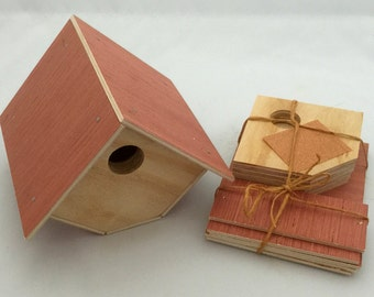 Wren Birdhouse Kit. Perfect for Scouts, or Childs first project.