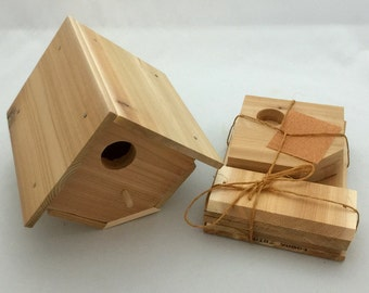 Cedar Wren Birdhouse Kit. Perfect for scouts or Child's project