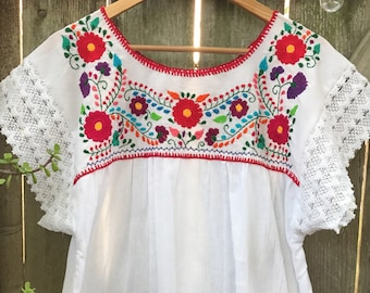 Mexican Blouse Etsy