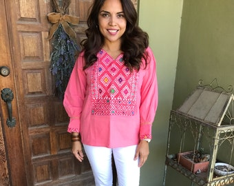 Mexican Blouse, San Andres Blouse, Fiesta Blouse