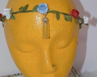 Fairy Bottle Circlet Flower Crown