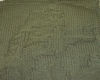 Zombie Knit Square