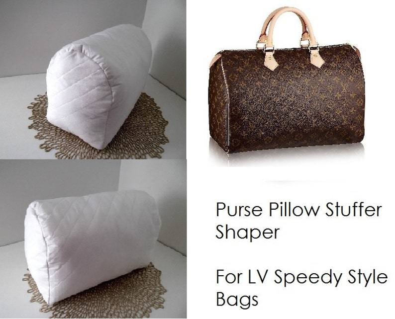 Purse Pillow for LV SPEEDY 25 30 35 40 Bag Shaper  b0b5320718b86