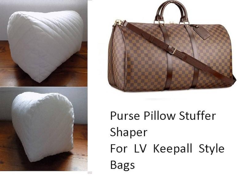 9dfe36f2b9 Purse Pillow for LV Keepall 45 50 55 Bag Shape Stuffer