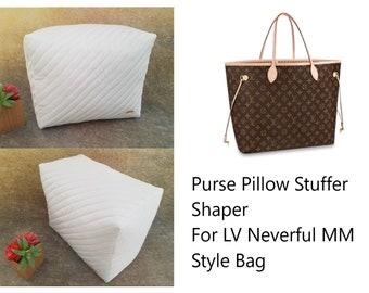 LV Neverfull MM Purse pillow ~ Bag Shaper Stuffer for Neverfull Style Bags- Purse Storage Stuffer Stuffing