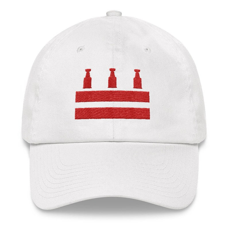 e556f75e Washington DC Hockey Cup Hat Fitted Cap   Etsy
