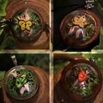 Zelda Korok Necklace, bracelet and keychain