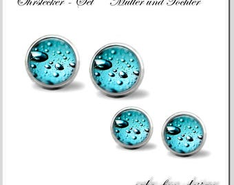 Studs-Set nut & daughter water droplets OMT-1210-002