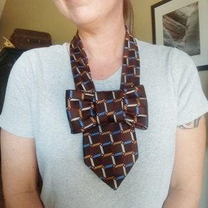 unique jewelry gift for her steampunk ruffle tie cowl vintage style fashion accessory Daffodil mauve silk neck collar