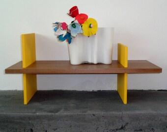 Building Block Series - Wall Shelf in Walnut/MDF