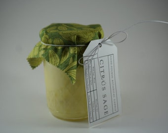 Citrus Sage Botanical Candle (Wood Wick)