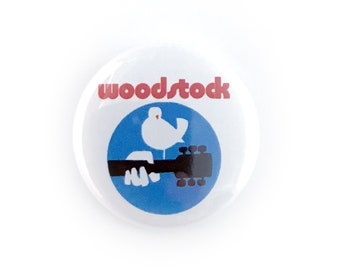 """Woodstock - 1"""" Button Pin"""