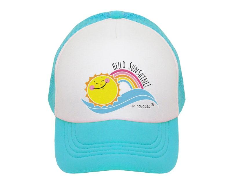 13bfc8ddd6433e Kids Trucker Hat Kids Baseball Hat Baby Sun Hat Toddler