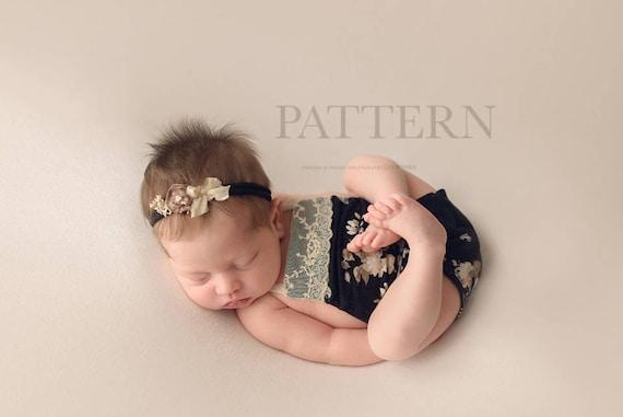 Baby Strampler Muster Neugeborene Spielanzug Schnittmuster   Etsy
