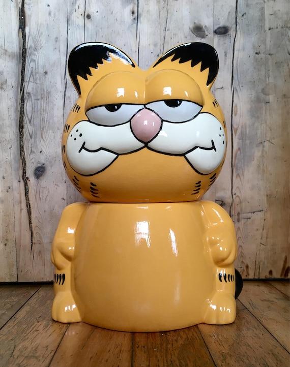 Garfield Cookie Jar Magnificent Garfield Cookie Jar Vintage Kitsch Etsy
