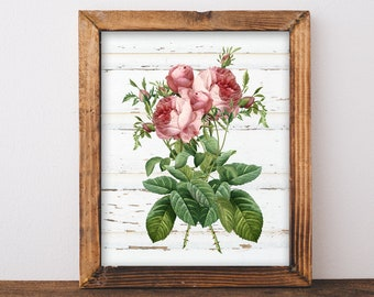 Shabby Chic Printable Decor Wall