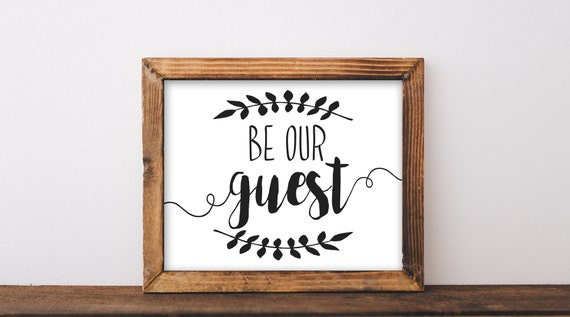 image about Be Our Guest Printable called Be Our Visitor, Printable, be our visitor signal, be our visitor printable, visitor space, visitor house wall artwork, visitor place wall decor, farmhouse indication