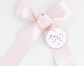 Pink Baby Shower Sash, Mummy To Be Sash, Pregnancy Sash, Mum to be Sash