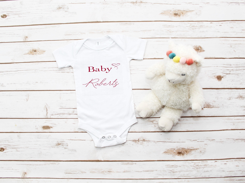 PERSONALISED Baby grows Baby vest UNISEX