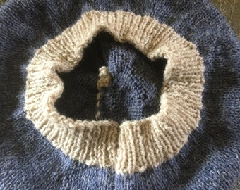 British wool beret.