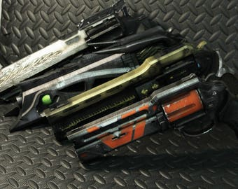 4 Destiny Inspired  Exotic Hand Cannons (Last Word, Thorn, Hawkmoon, Devil You Know) 1:1 scale