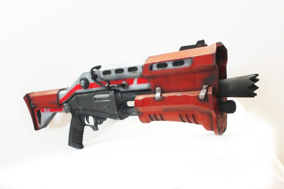 Fortinite Tactical Shotgun 11 Scale Fan Art