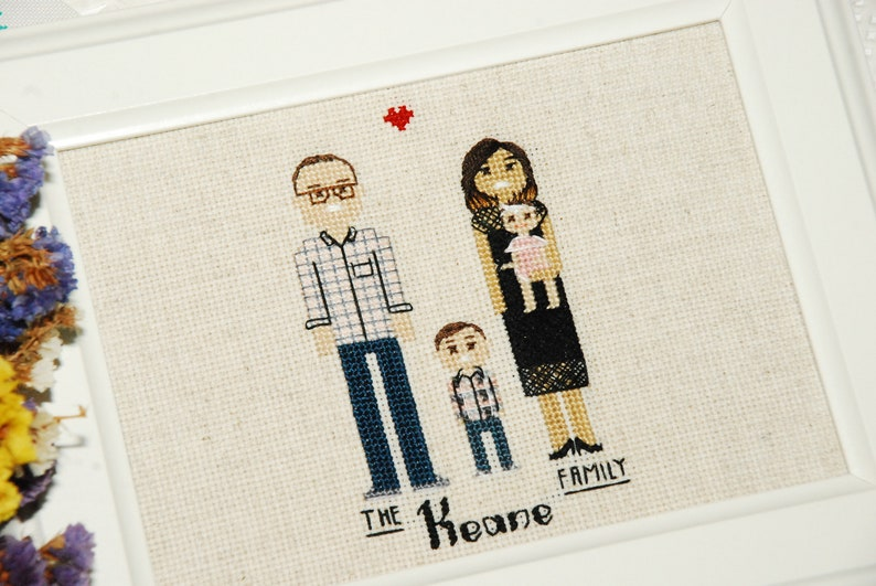 Cross stitch gift for him